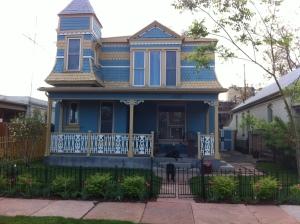 Our house on Kalamath Street