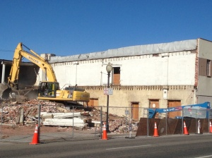 Taken November 15 2013, at the start of Colorado Ballet Construction