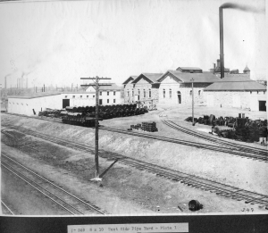 West Side Pipe Yard, Courtesy Denver Water Archives