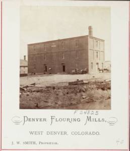 Smith owned several West Denver mills, Courtesy DPL, Western History Collection, X-18512