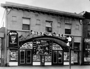 Bide-a-wee theater at 1036 W Colfax (1934) Courtesy DPL, Western History Collection X-22086
