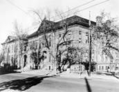The Elmwood School was demolished to build Del Pueblo, DPL Western History Collection X-28394