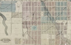 Map of Denver, the capital of Colorado : compiled from the official records. Courtesy of DPL Western History Collection CG4314.D4 1878.W5