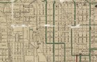 Map of the city of Denver, showing the lines of the Denver City Tramway Co--also the terminal properties of the Northwestern Terminal Railway Co. known as the Moffat Road Terminals (Zoomed) .  Courtesy DPL, Western History Collection CG4314.D4 1906.B3