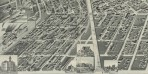 Perspective map of the city of Denver, Colo. 1889. Wellge, H. (Henry) Courtesy DPL Western History Collection CG4314.D4 1889.W4