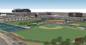 Rendering of MSU Athletic Complex 2014