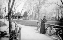 A Lady in Lincoln Park Approx 1890, Courtesy DPL Western History Collection X-27632