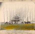 Addison Baker's farm residence, DPL Western History Collection X-19780