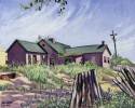 Camp Weld painted by Herndon Davis, DPL Western History Collection Z-2934; C41-8 ART