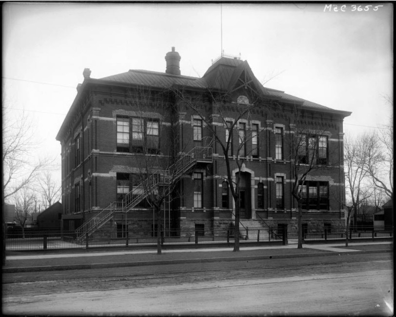 Central School at Kalamath Street and West 12th Avenue, DPL Western History Collection MCC-3655