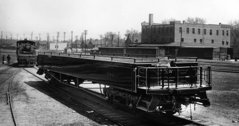 Denver and Rio Grande Excursion Car, Burnham Yard 1905. Courtesy DPL Western History Collection GB-8459