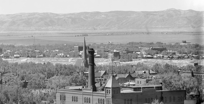 Denver panoramic (Zoom B) Circa 1900. Courtesy History Colorado Collection CHS.J2617