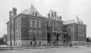 Franklin School West Denver 1889, DPL Western History Collection X-18878