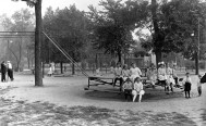 Lincoln Park Playgrounds approx 1920, DPL Western History Collection X-27760