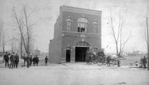 Old Fire House, Number 2, West Denver Courtesy History Colorado Collection CHS.X4520