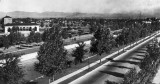 Speer Boulevard, Cherry Creek Drive, and Sunken Gardens. Also seen: Neighborhood House, Central School, and County Jail. Courtesy DPL Western History Collection X-22676