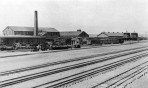 View at Denver and Rio Grande R. R. Shops, Burnham 1889, DPL Western History Collection X-18860