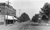 View on Santa Fe Avenue, West Denver 1889. Courtesy Western History Collection X-18891