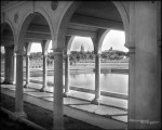 Vista from pavilion, Sunken Garden, Speer Blvd., Denver, DPL Western History Collection MCC-1944
