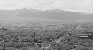 Denver from the Capital 1909. Zoomed with Westminster Presbyterian Church in view on 1300 block of Lipan. Courtesy History Colorado CHS.X9715Denver