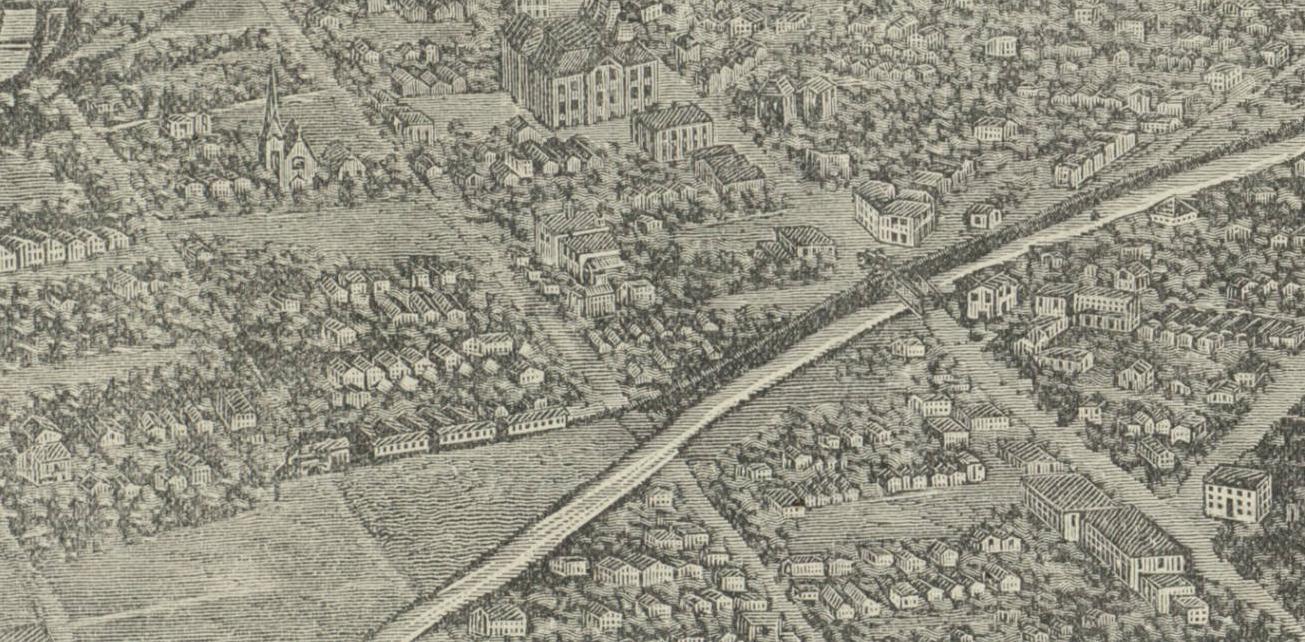 The Denver Circle Railroad 18821898 Across The Creek - Denver Circled On Us Map