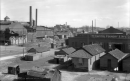 Denver industrial section, south from Colfax Viaduct. Courtesy DPL Western History Collection MCC-3054