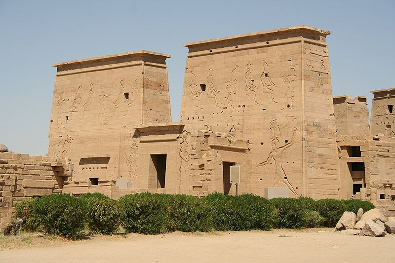 PHILAE Temple, Egypt offers inspiration to 1920's architecture